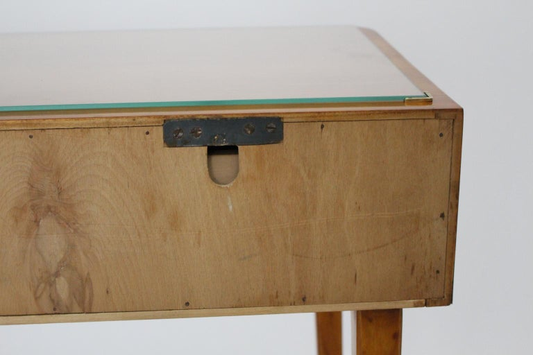 Mid-Century Modern Vintage Cherrywood Sideboard with drawers Italy, 1950s For Sale 3