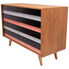 Mid-Century Modern Chest of Drawers No. U-453, by Jiří Jiroutek, Czechoslovakia