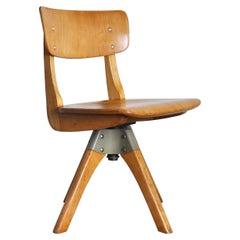 Mid-Century Modern Childrens Swivel Chair by Casala
