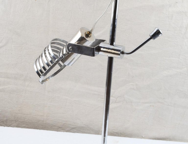 Mid-Century Modern Chrome Adjustable Desk Light For Sale 3