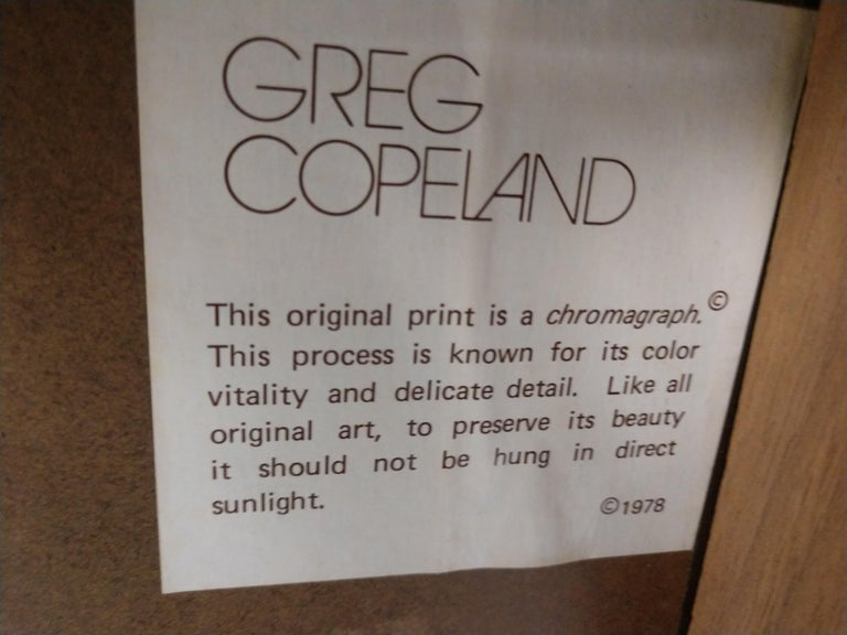 Mid-Century Modern Chromolithographs by Greg Copeland For Sale 4