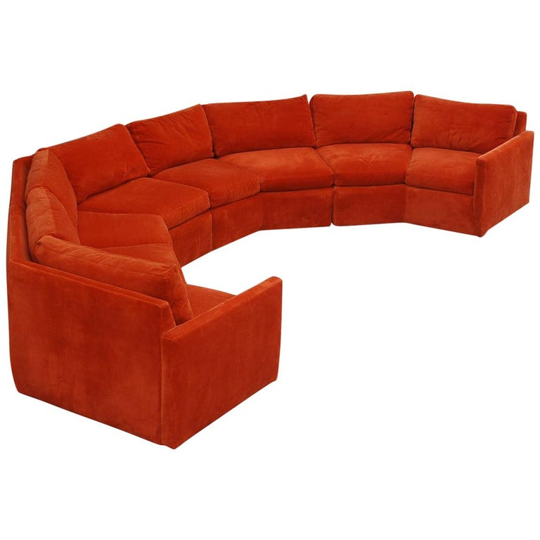 Sectional Sofa By Milo Baughman