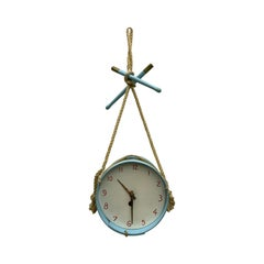 Mid-Century Modern Clock by Suzanne Bonnichon for Jacques Adnet, France