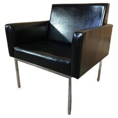 Mid-Century Modern Club Armchair in the Style of British Designer Robin Day