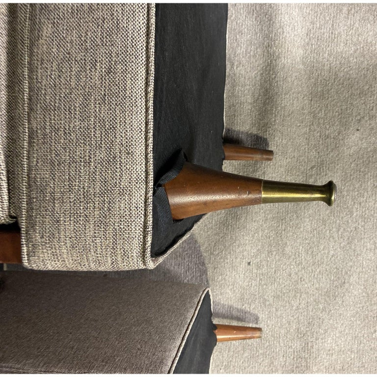 20th Century Mid-Century Modern Club Chair Pairing For Sale