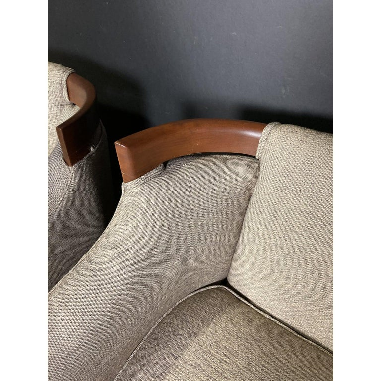 Mid-Century Modern Club Chair Pairing For Sale 2