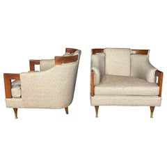 Mid-Century Modern Club Chair Pairing