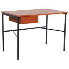 Mid-Century Modern CM 174 Desk by Pierre Paulin for Trefac Belgium, 1950s