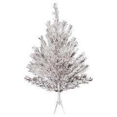 Mid-Century Modern Coatings Aluminum Christmas Tree New in Box 1959 Americana