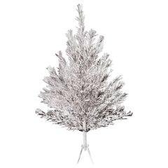 Mid-Century Modern Coatings Aluminum Christmas Tree New in Box, 1959, Americana