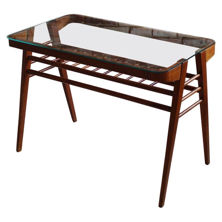 Mid Century Modern Coffee Table By F Jirak For Uluv Czech Design