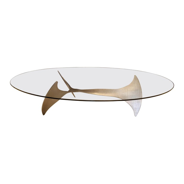 Mid-Century Modern Coffee Table by Knut Hesterberg For Sale