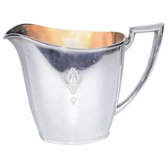 Mid-Century Modern Community Silver Plate Water Pitcher, America