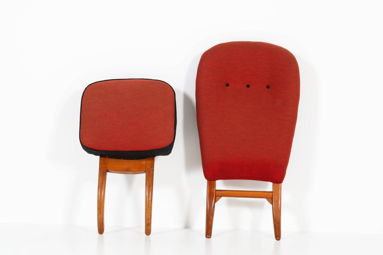 Mid-Century Modern Congo Chair by Theo Ruth for Artifort, 1950s For Sale 4