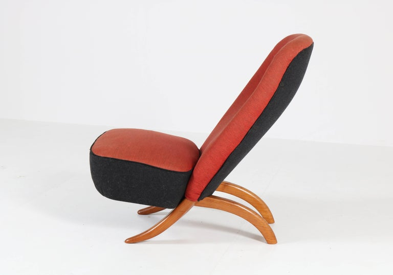 Mid-Century Modern Congo Chair by Theo Ruth for Artifort, 1950s In Good Condition For Sale In Amsterdam, NL