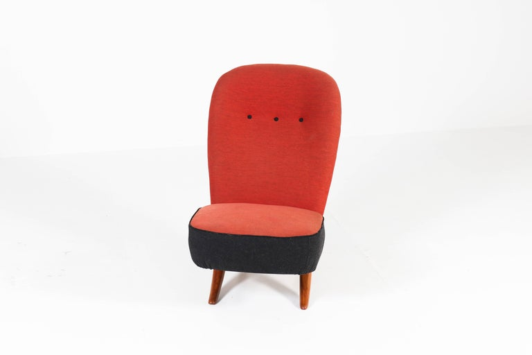 Mid-20th Century Mid-Century Modern Congo Chair by Theo Ruth for Artifort, 1950s For Sale