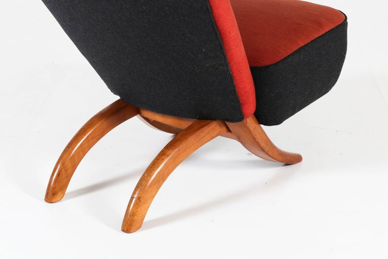 Mid-Century Modern Congo Chair by Theo Ruth for Artifort, 1950s For Sale 2