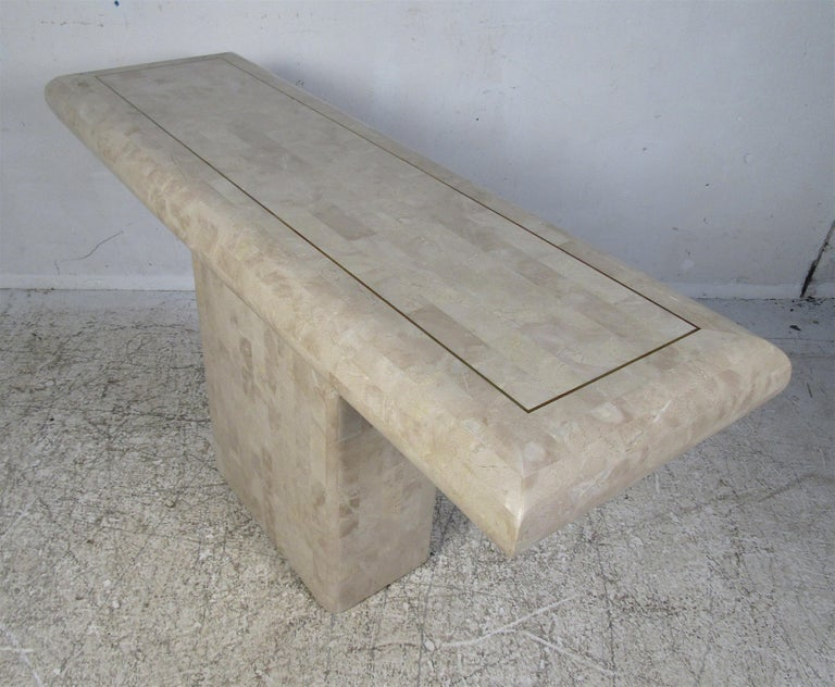Mid-20th Century Mid-Century Modern Console Table by Maitland Smith For Sale