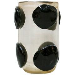 Mid-Century Modern Costantini Murano Glass Italian Vase