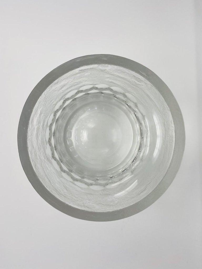 Mid-Century Modern Crystal Ice Bucket/Vessel 3