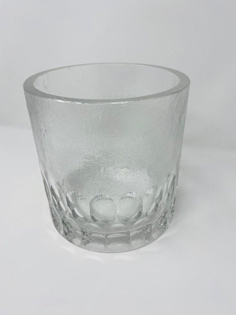 Mid-Century Modern Crystal Ice Bucket/Vessel 4