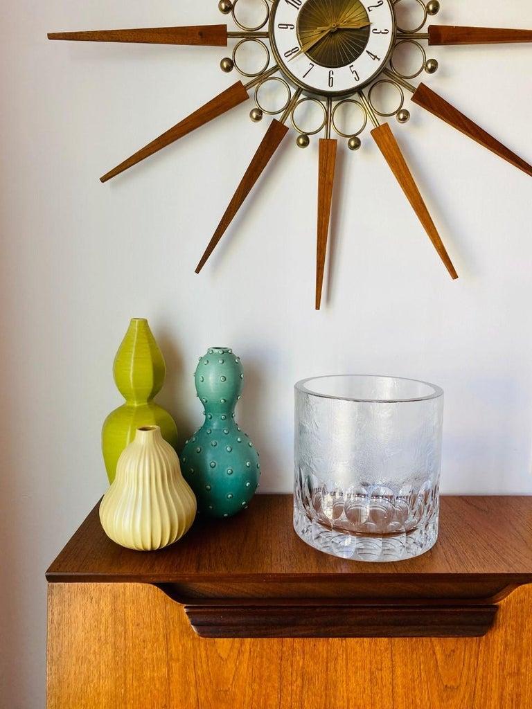 Mid-Century Modern Crystal Ice Bucket/Vessel 5
