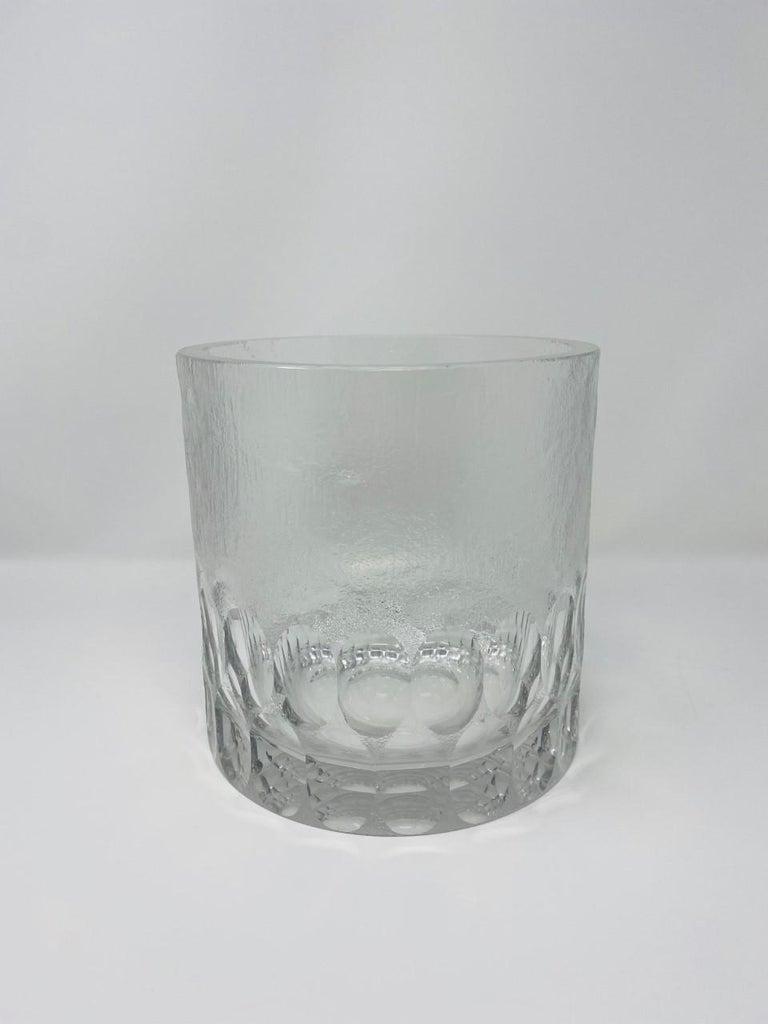 Glass Mid-Century Modern Crystal Ice Bucket/Vessel