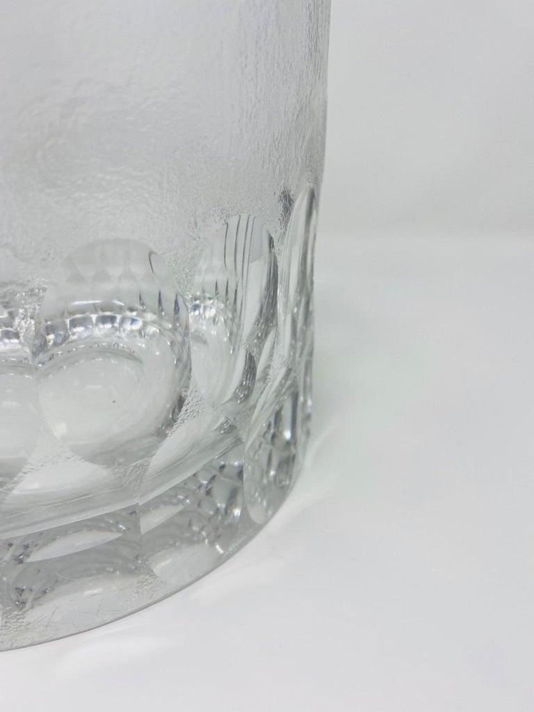 Mid-Century Modern Crystal Ice Bucket/Vessel 1