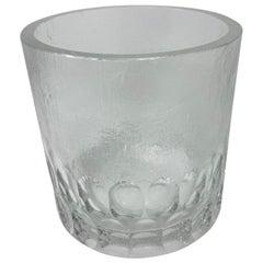 Mid-Century Modern Crystal Ice Bucket/Vessel