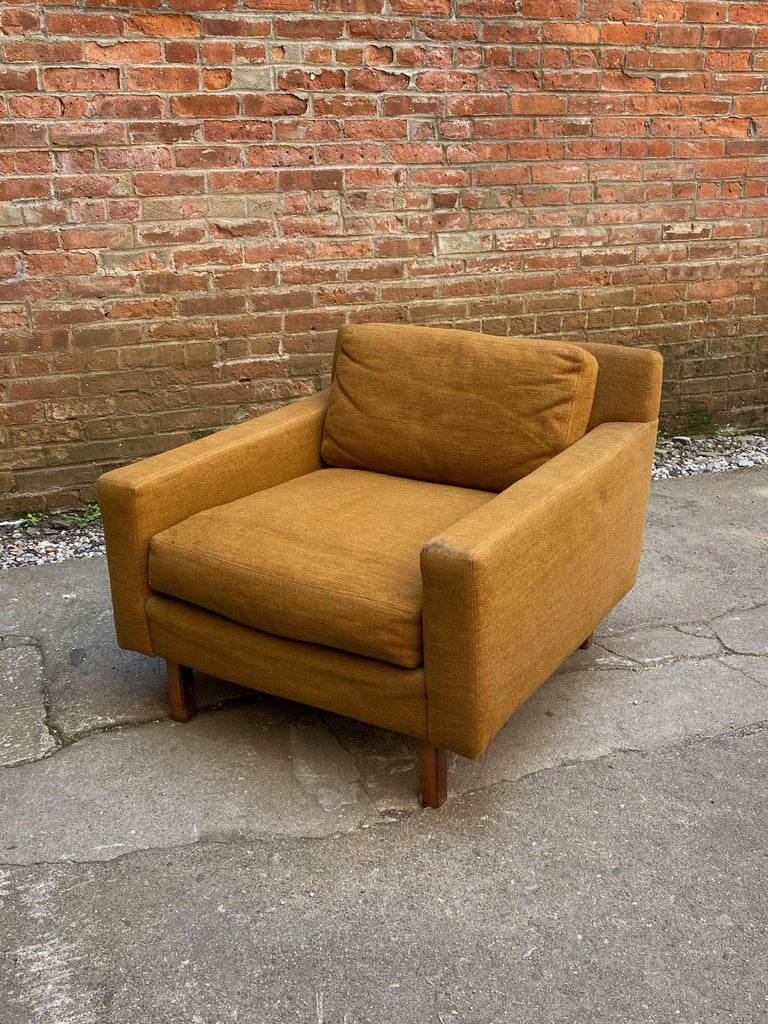 Mid-Century Modern Cube Chair For Sale 9