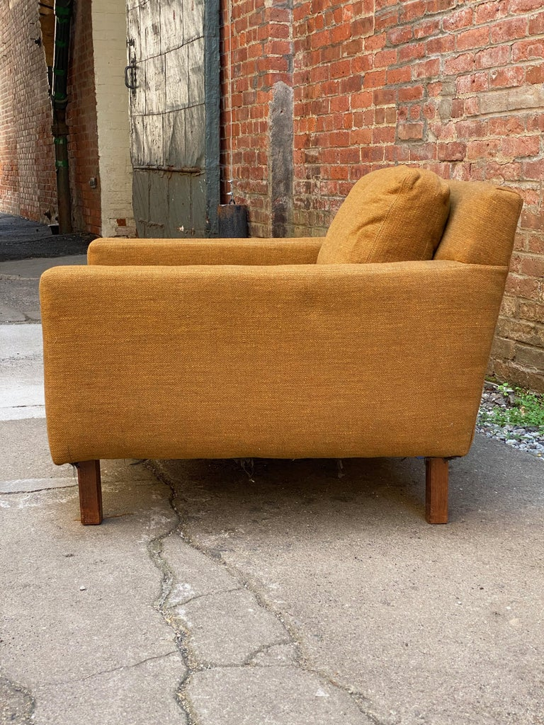 Mid-20th Century Mid-Century Modern Cube Chair For Sale