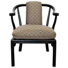 Mid-Century Modern Custom Kraft & Sons Asian Style Lounge Armchair, 1960s