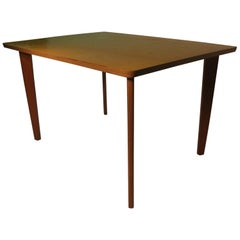 Mid-Century Modern Custom-Made Oak Table