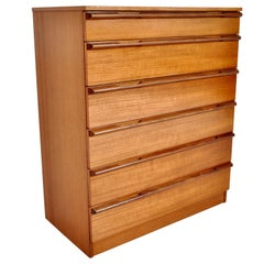 Mid-Century Modern Danish Chest of Drawers/Dresser in Teak, 1960s