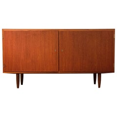 Mid-Century Modern Danish Credenza with Drawers