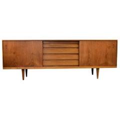 Mid-Century Modern Danish Design Bramin Teak Sideboard