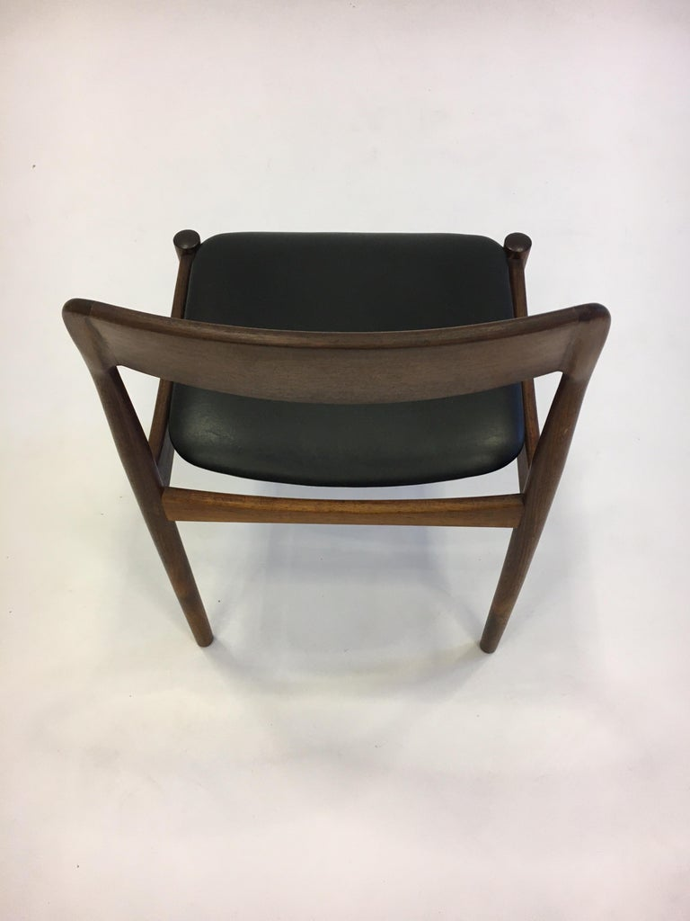 Johannes Nørgaard Mid-Century Modern Danish Dining Chairs, Denmark 1950s For Sale 7