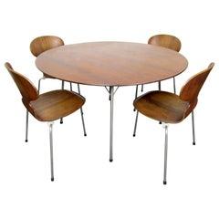 Mid-Century Modern Danish Dining Set by Arne Jacobsen