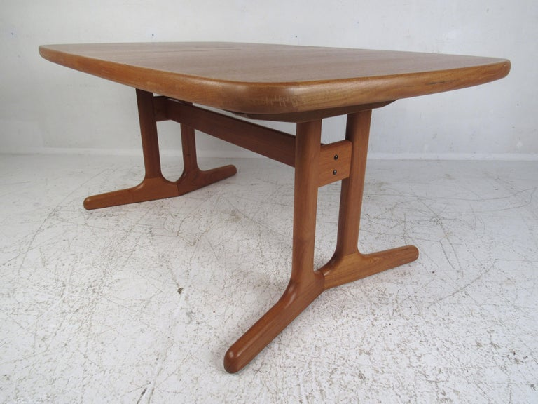 Upholstery Mid-Century Modern Danish Dining Set For Sale