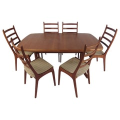 Mid-Century Modern Danish Dining Set