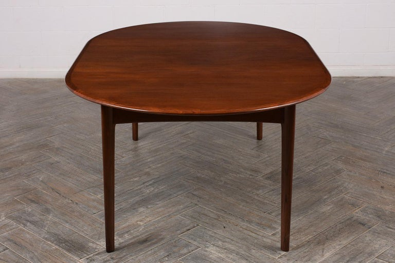 Mid-20th Century Danish Mid-Century Modern Lacquered Dining Table For Sale