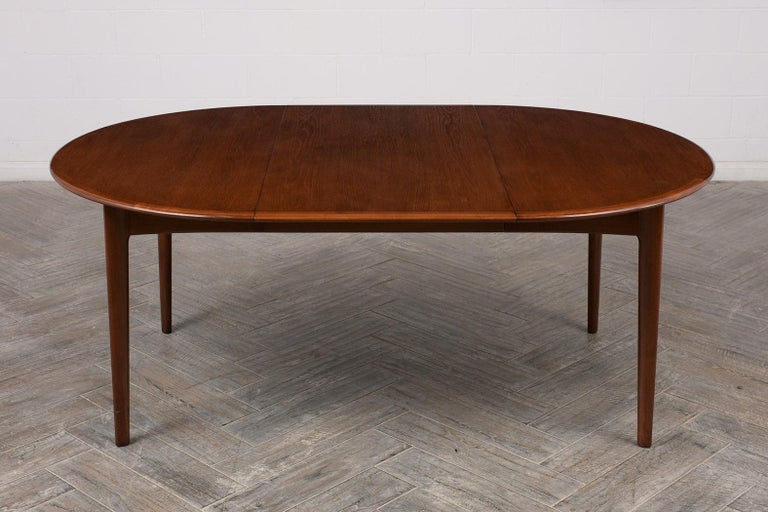 Danish Mid-Century Modern Lacquered Dining Table For Sale 3
