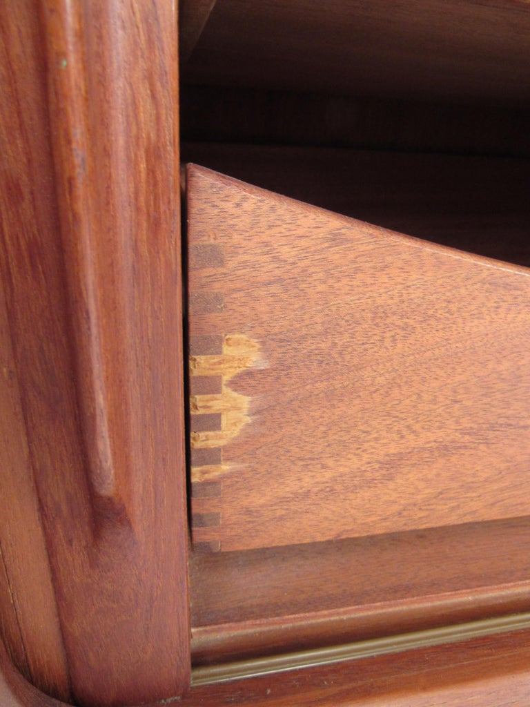 Mid-Century Modern Danish Dresser Attributed to H.P Hansen For Sale 3