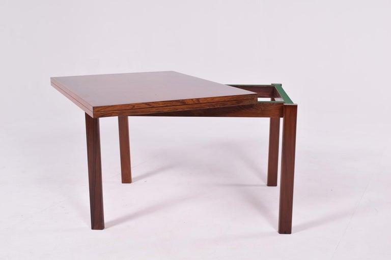 Mid-20th Century Mid-Century Modern Danish Flip Top Coffee Table, 1960s For Sale