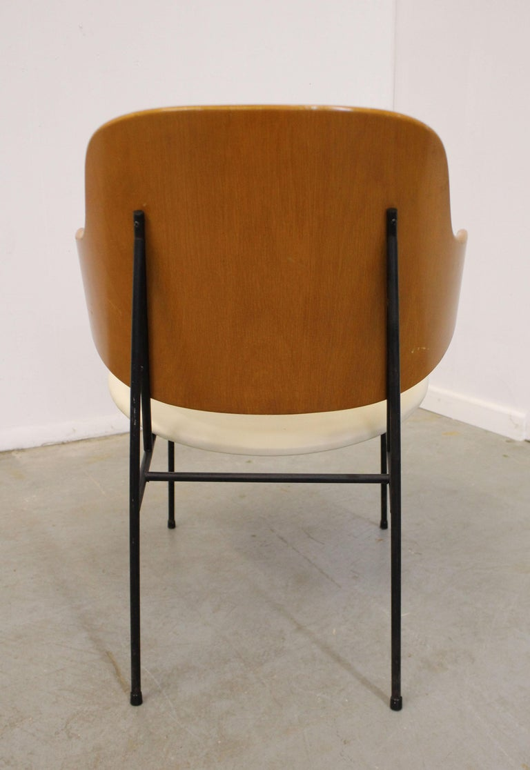 Mid-20th Century Mid-Century Modern Danish IB Kofod Larsen for Selig Penguin Accent Chair For Sale
