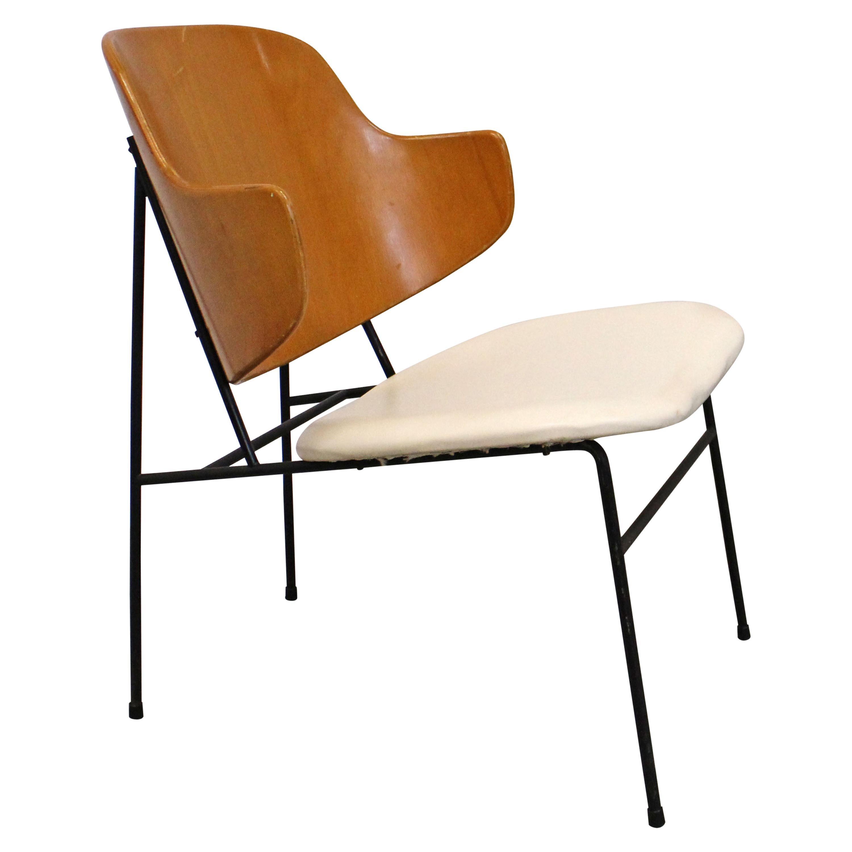 Mid-Century Modern Danish IB Kofod Larsen for Selig Penguin Accent Chair