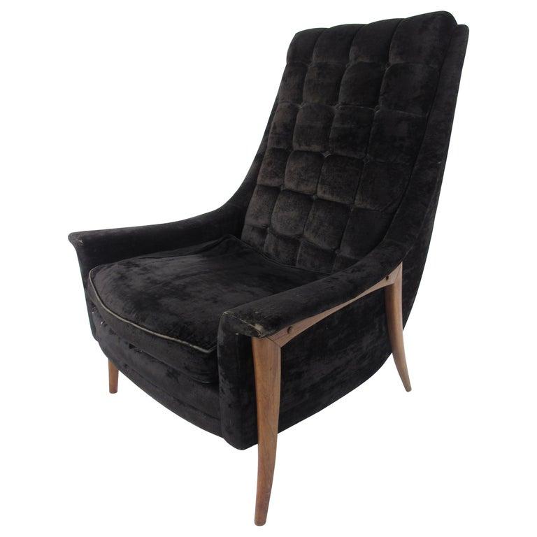 Mid-Century Modern Danish Lounge Chair For Sale