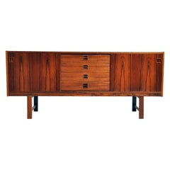 Mid-Century Modern Danish Sideboard with 4 Drawers