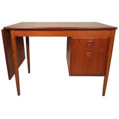 Mid-Century Modern Danish Slide Top Desk