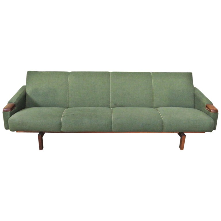 Mid Century Modern Sofa For Sale: Mid-Century Modern Danish Sofa For Sale At 1stdibs